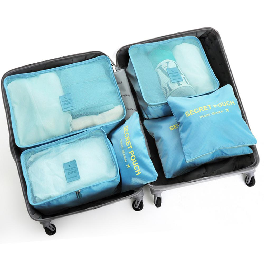 Red Blue Marble Paint Travel Suitcase Protector Zipper Suitcase Cover Elastic