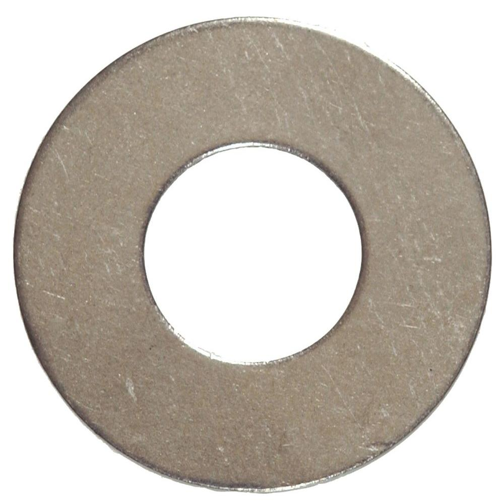 5/16 in. x 3/4 in. Stainless-Steel Flat Washer Caps (20-Pack)