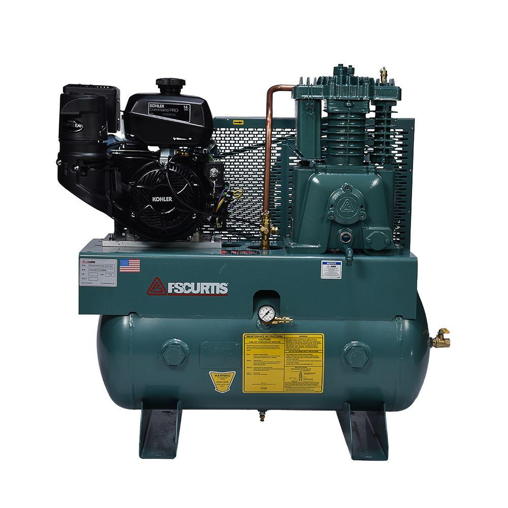 30 Gal. 14 HP Horizontal Gas Air Compressor
