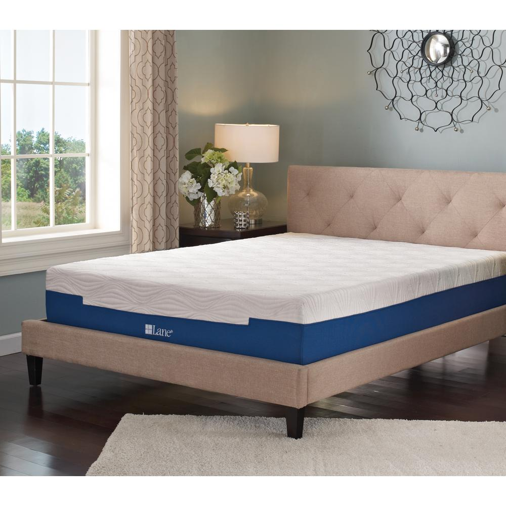 internet lane rest rite by lane 9 in california king size memory foam mattress