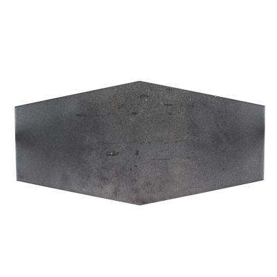 Castle Rock 9-1/2 in. x 19-1/4 in. x 8.5 mm Porcelain Hexagon Floor and Wall Tile (12.15 sq. ft. / case)
