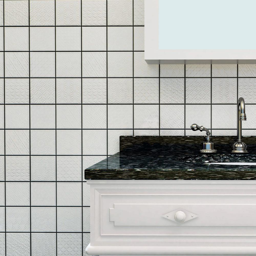 Floor Wall Tiles Home Garden 4x8 Ocean Ripple Glass Subway Wall Tile Kitchen Backsplash Shower Bath