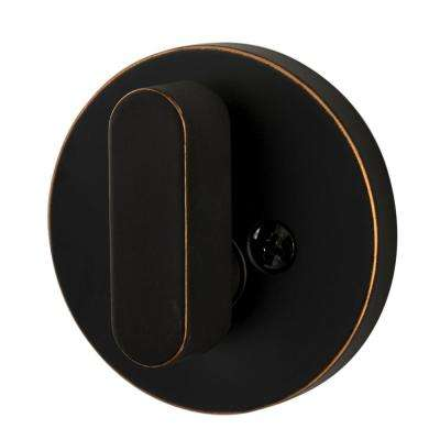 Modern Single-Cylinder Deadbolt, Vintage Bronze