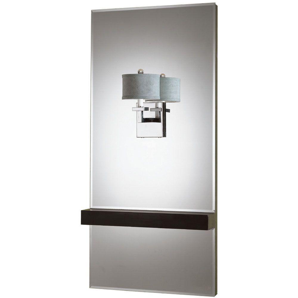 6939 1-Light Chrome Mirror Sconce