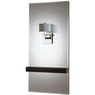 6939 1-Light Chrome Mirror Sconce
