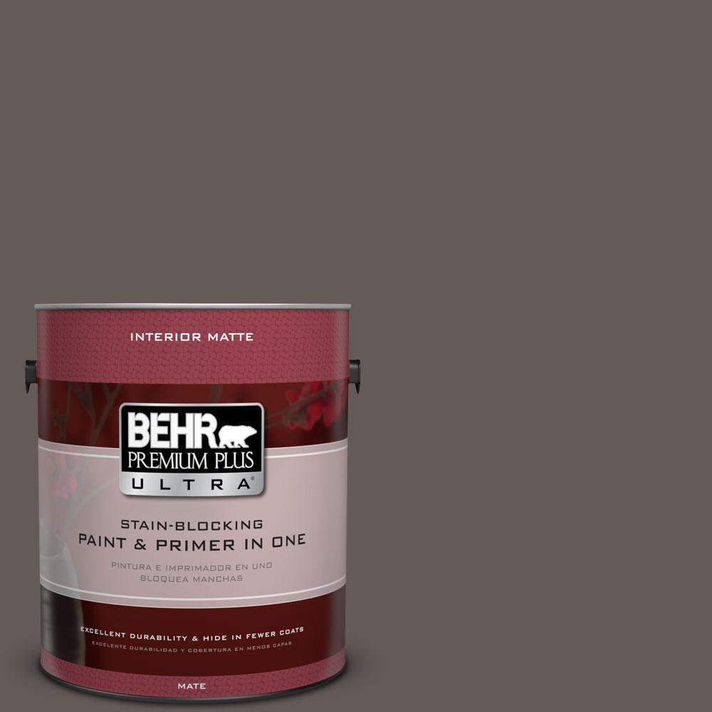 1 gal. #BXC-71 Wood Acres Matte Interior Paint