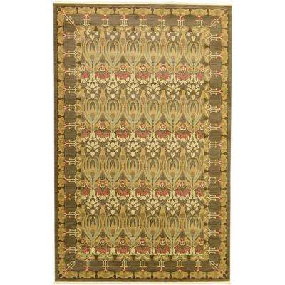 Heritage Brown 10 ft. 6 in. x 16 ft. 5 in. Area Rug