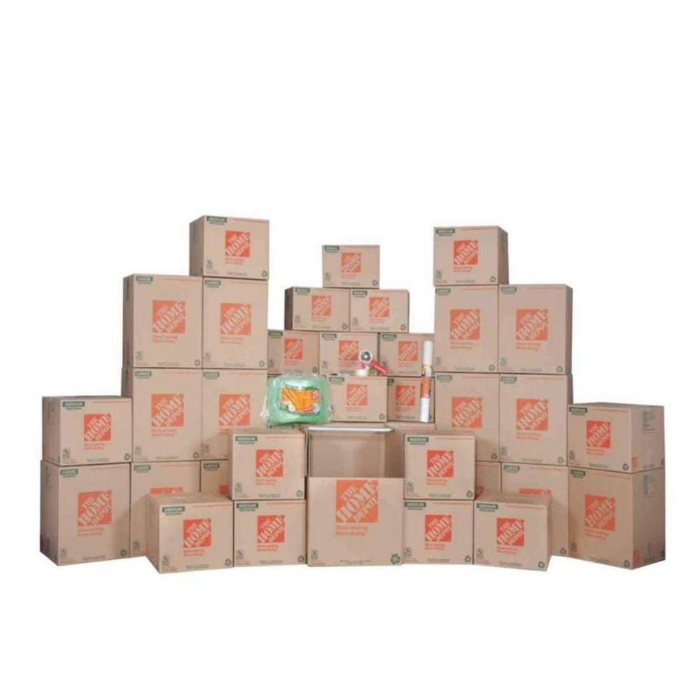 101-Box 4 Bedroom Moving Kit
