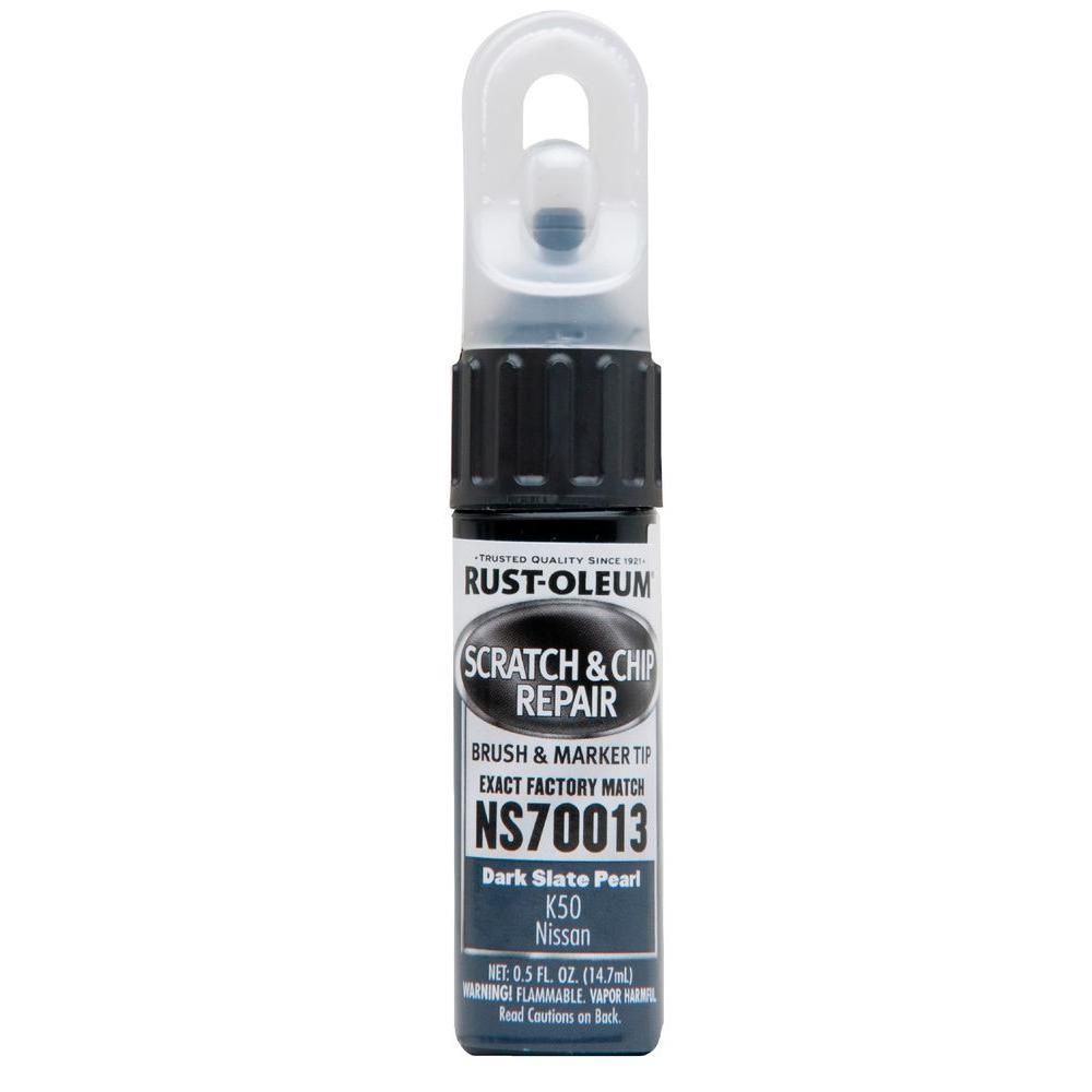0.5 oz. Dark Slate Pearl Scratch and Chip Repair Marker (6-Pack)
