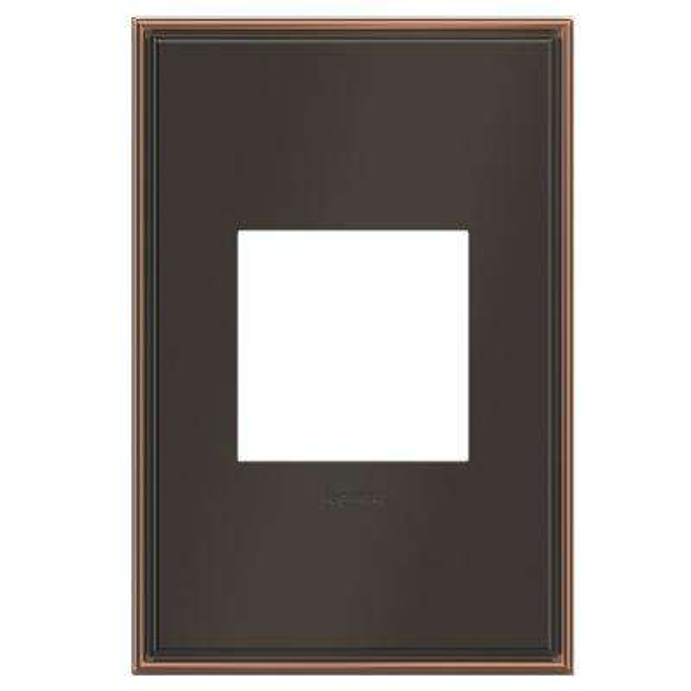 adorne 1 Gang Decorator/Rocker Wall Plate, Oil Rubbed Bronze (1-Pack)