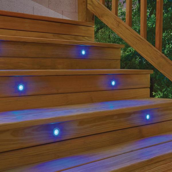 Stainless Steel Multi Color Led Deck