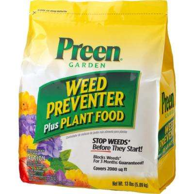 13 lb. Garden Weed Preventer Plus Plant Food