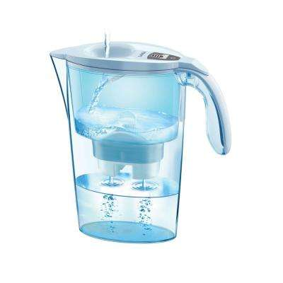 9.7 Cup Water Filtering Pitcher 3000 Series in White