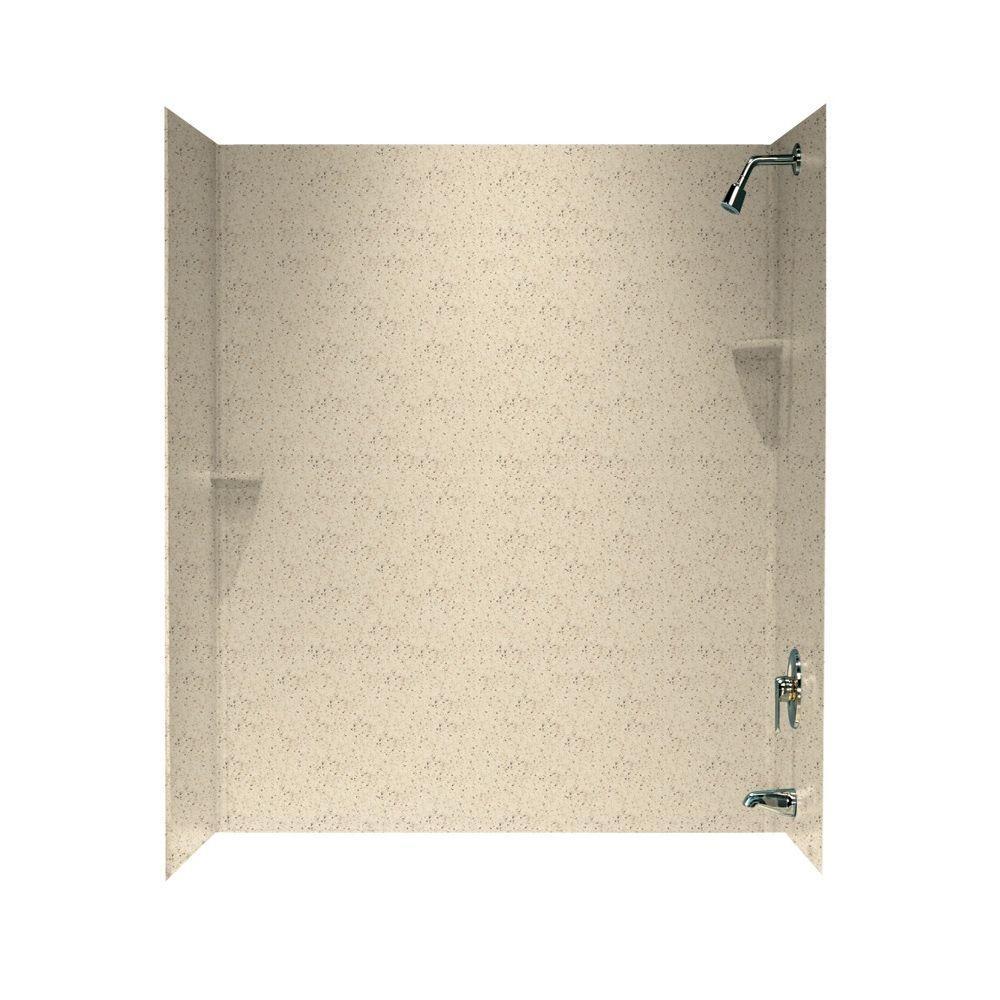 Three piece - Bathtub Walls & Surrounds - Bathtubs - The Home Depot