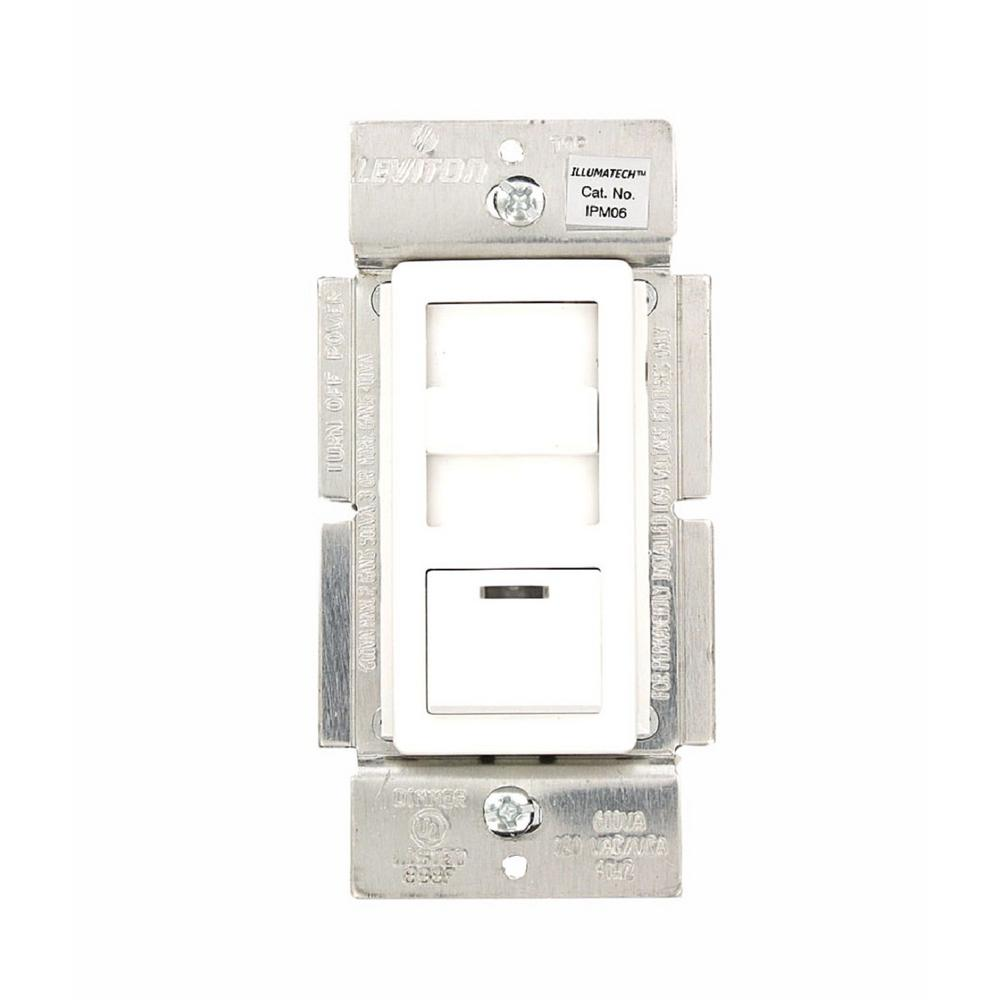 Alexa Smart Light Switches Dimmers Lighting The Home Depot Three Way Switch Operation Illumatech 600 Volt 450 Watt Magnetic Low Voltage Dimmer Single Pole And