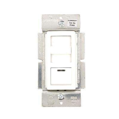 IllumaTech 600-Volt 450- Watt Magnetic Low Voltage Dimmer, Single Pole and 3-Way, White/Ivory/Light Almond