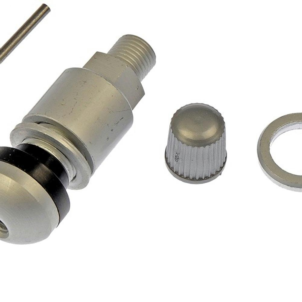 OE Solutions TPMS Service Kit - Replacement Aluminum Clamp-In Valve Stem  with Mounting Screw