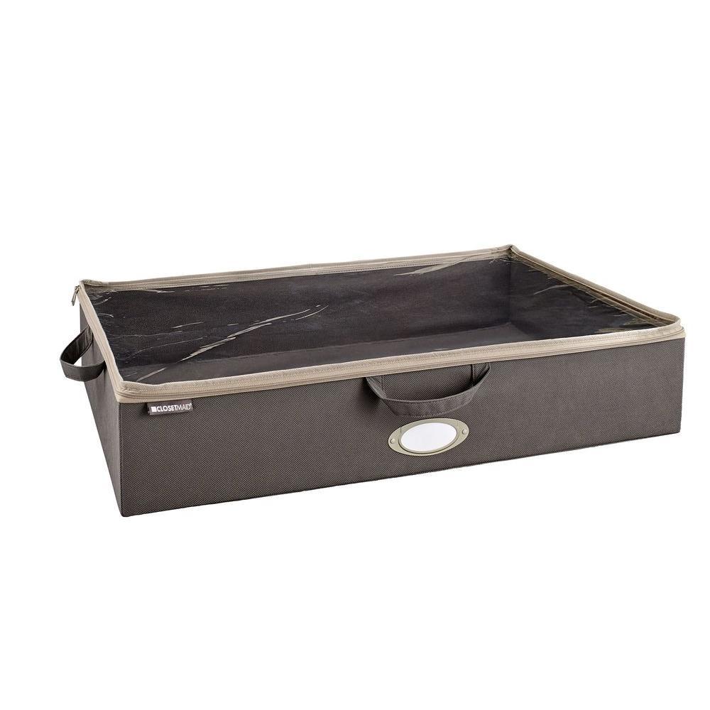 Under-Bed Storage Bag in Gray