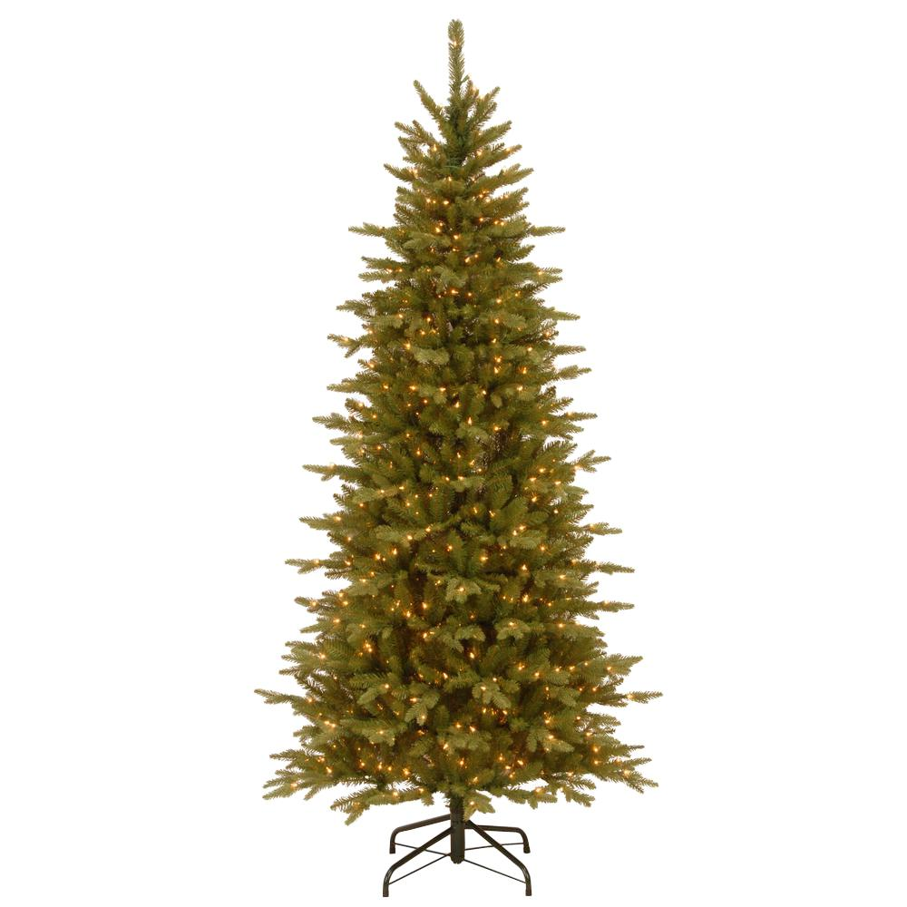 Slim 7 5 Ft Christmas Tree: National Tree Company 7.5 Ft. Sierra Spruce Artificial