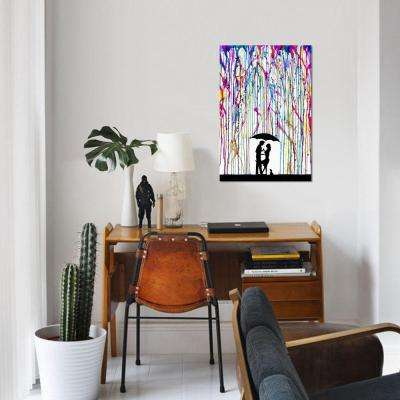 """18 in. x 12 in. Two Step by """"Marc Allante"""" Printed Canvas Wall Art"""