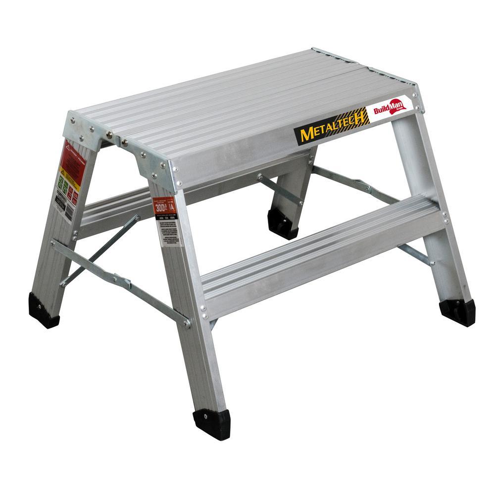 Peachy Metaltech Aluminum Work Platforms Ladders The Home Depot Uwap Interior Chair Design Uwaporg