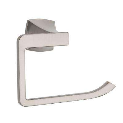 Venturi Towel Ring in Brushed Nickel