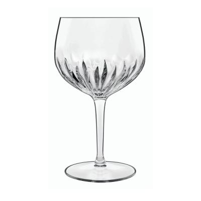 Mixology 27 fl. oz. Lead-Free Crystal Glass Spanish Gin and Tonic/Sangria Glass (4-Pack)