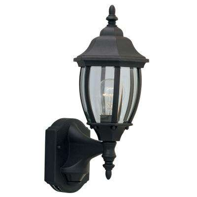 Windsor Mill Collection Black Outdoor Wall-Mount Lantern