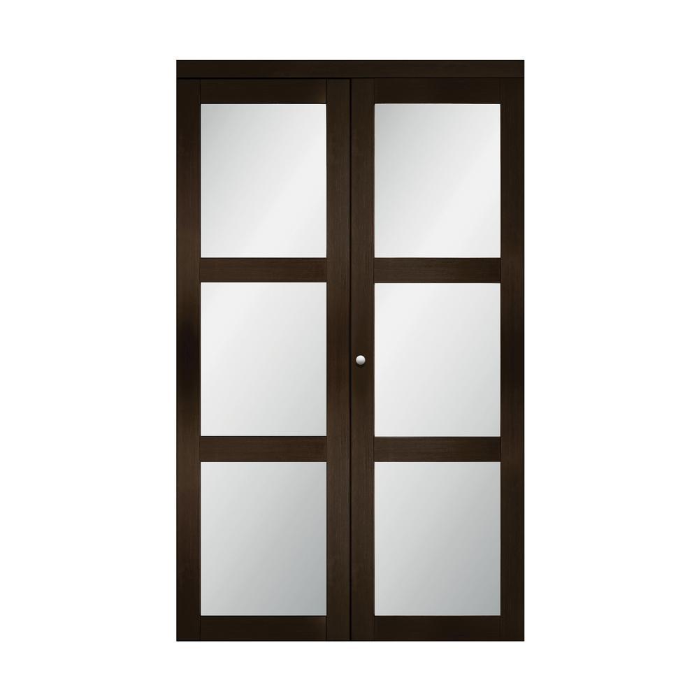 Black Bifold Doors Interior Closet Doors The Home Depot