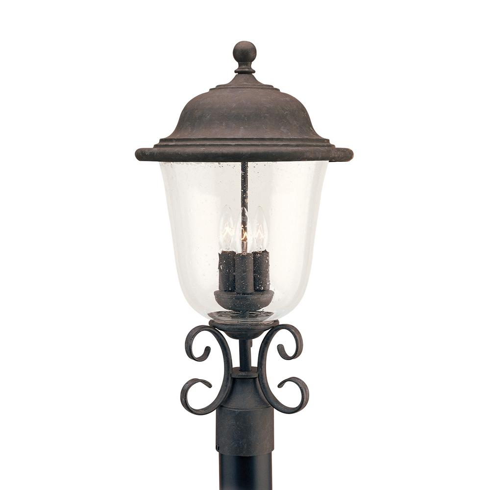 Sea Gull Lighting Trafalgar 3-Light Outdoor Oxidized