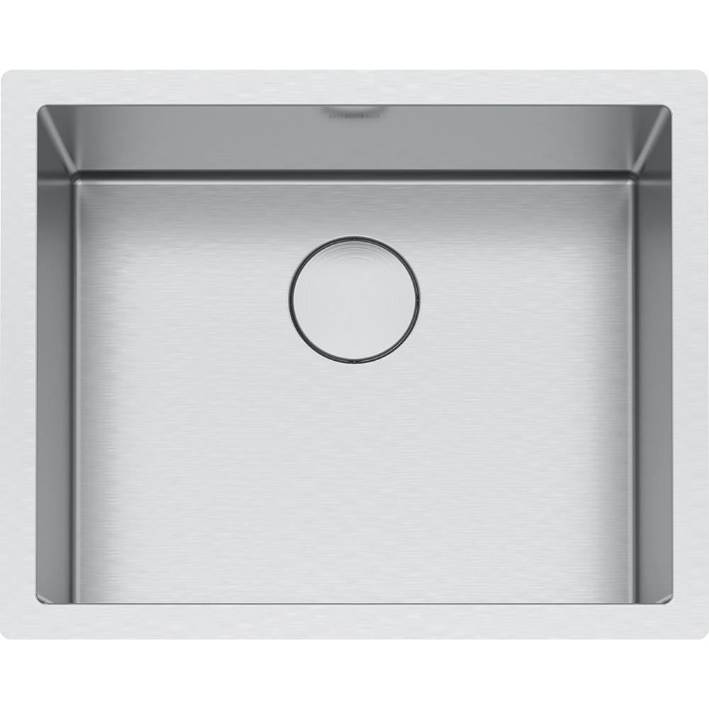 Franke Professional Undermount Stainless Steel 23.5 in. x 19.5 in. Single  Bowl Kitchen Sink