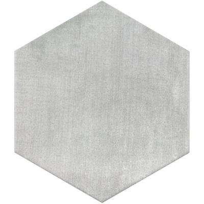 Light Gray 9.875 in. x 11.375 in. x 10mm Matte Porcelain Floor and Wall Tile (18 pieces / 10.76 sq. ft. / box)