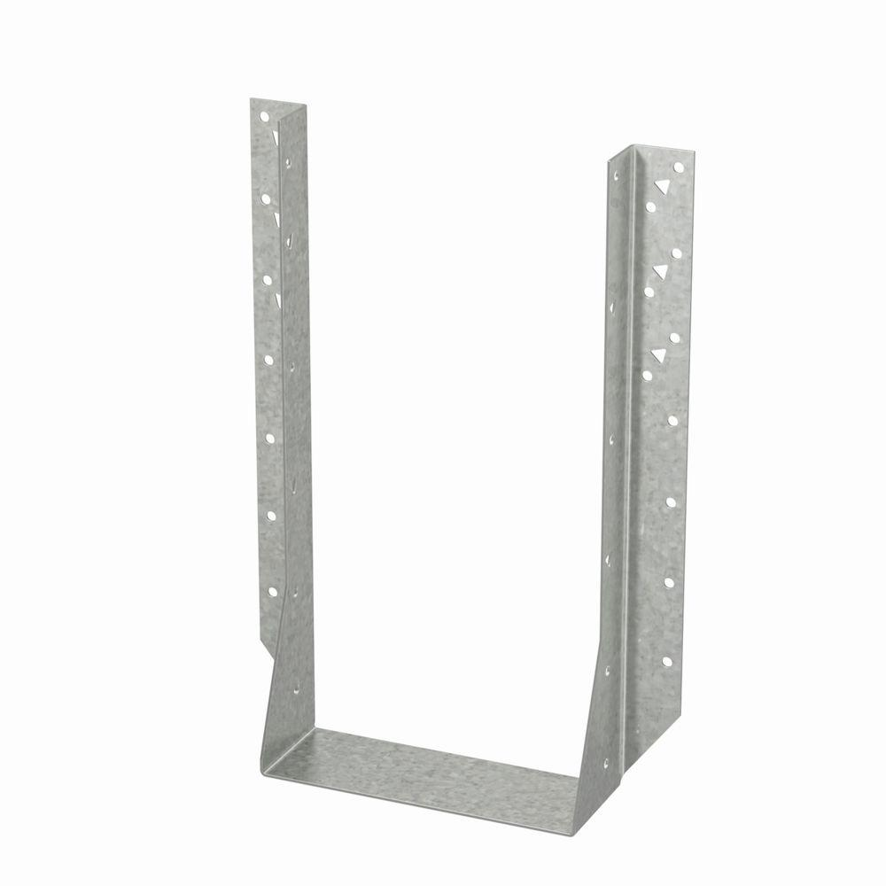 simpson strong tie double 4 in x 14 in face mount joist hanger hu414 2 the home depot. Black Bedroom Furniture Sets. Home Design Ideas