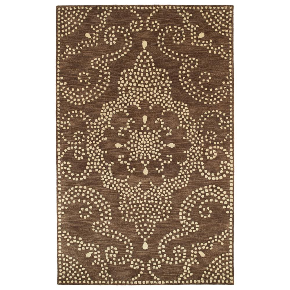 Art Tiles Brown 3 ft. 6 in. x 5 ft. 6
