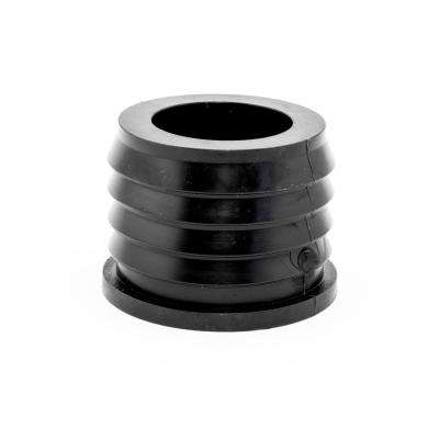 Flexible Connector 4 in. x 4 in. Flexible PVC for Cast Iron Hub to Spigot Donut