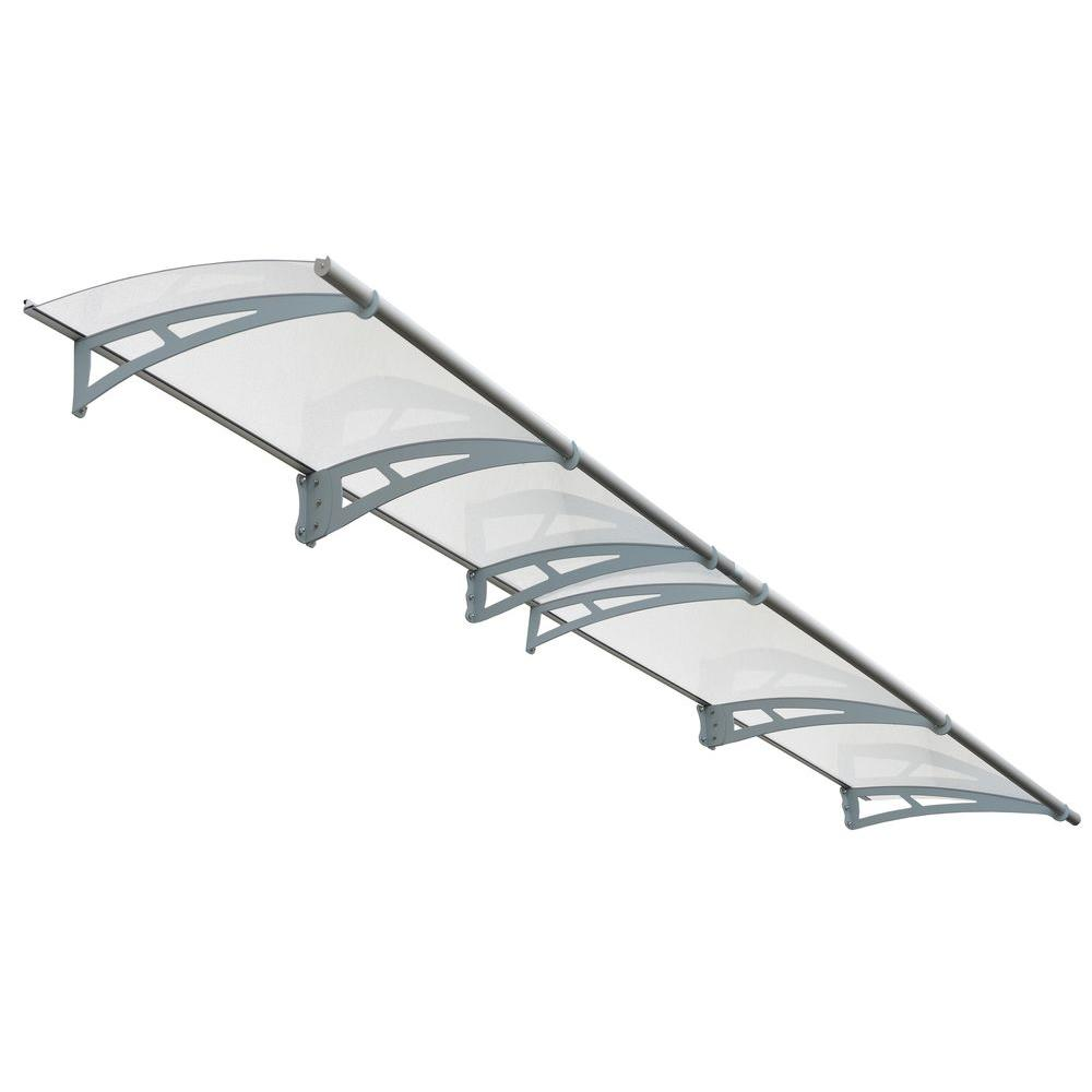 sc 1 st  Home Depot & Palram Aquila 4100 Clear Awning-703418 - The Home Depot