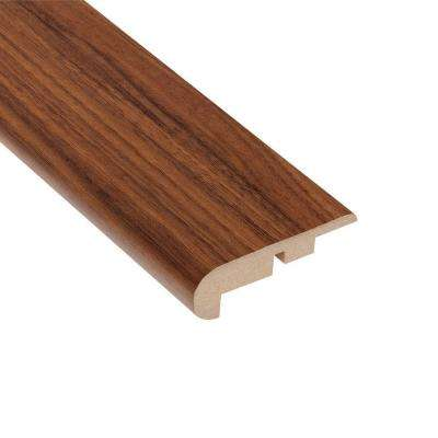 Monarch Walnut 7/16 in. Thick x 2-1/4 in. Wide x 94 in. Length Laminate Stairnose Molding