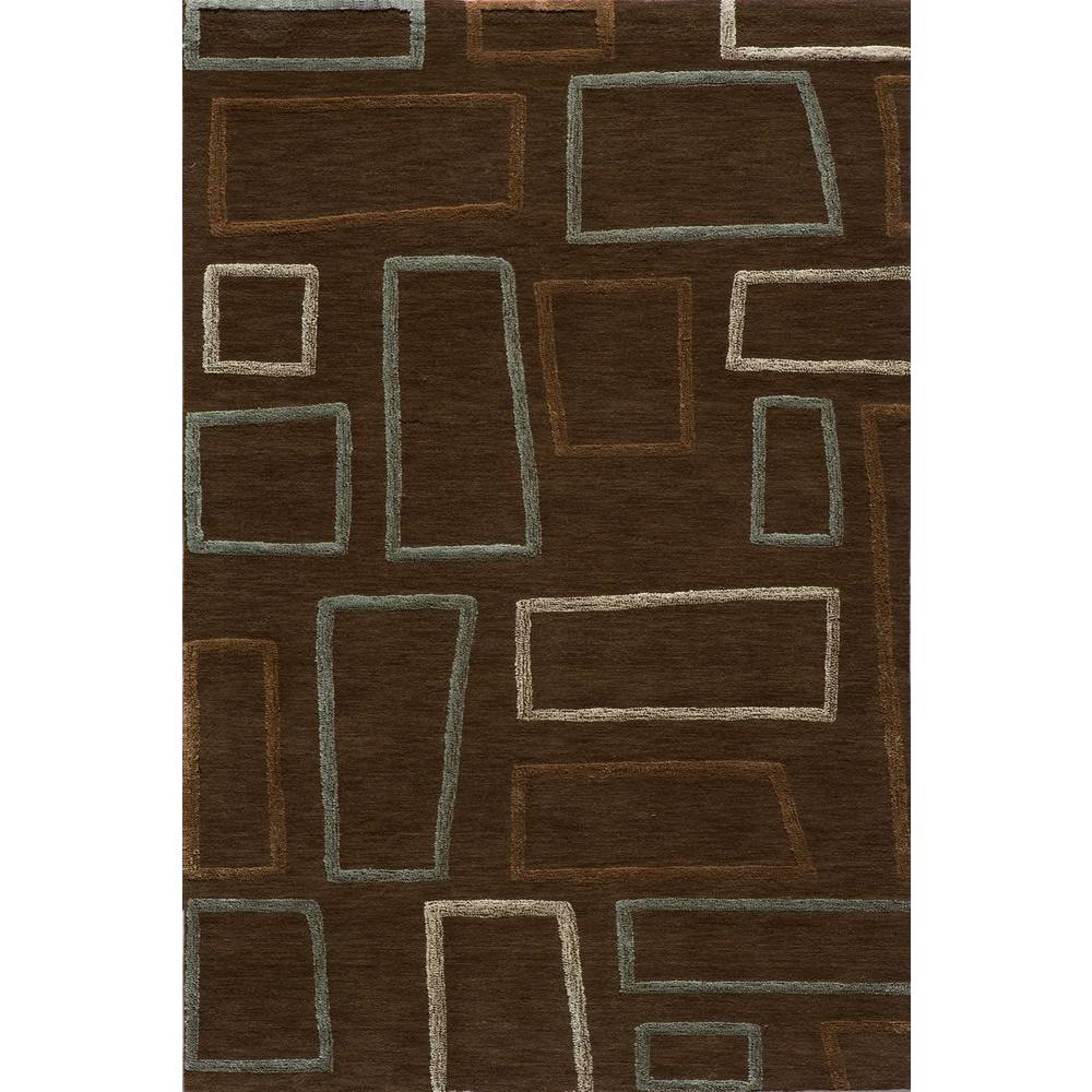 Momeni Passion Brown 8 ft. x 10 ft. Indoor Area Rug