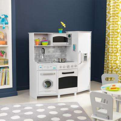 White Large Play Kitchen