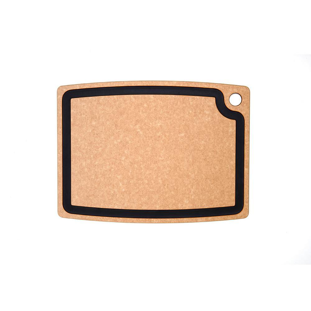 Gourmet Series 18 in. x 13 in. Rectangular Wood Fiber Composite Cutting Surface
