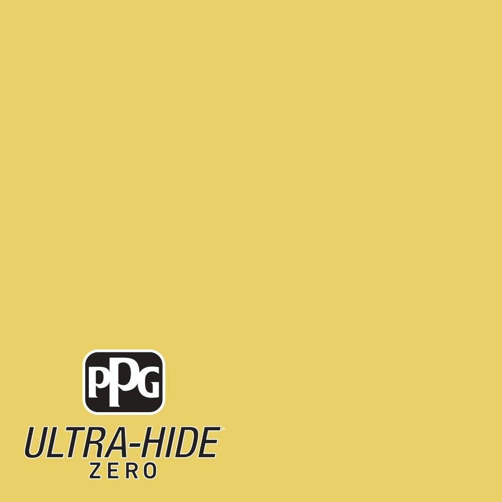 1 gal. #HDPY54 Ultra-Hide Zero Spicy Banana Pepper Eggshell Interior Paint