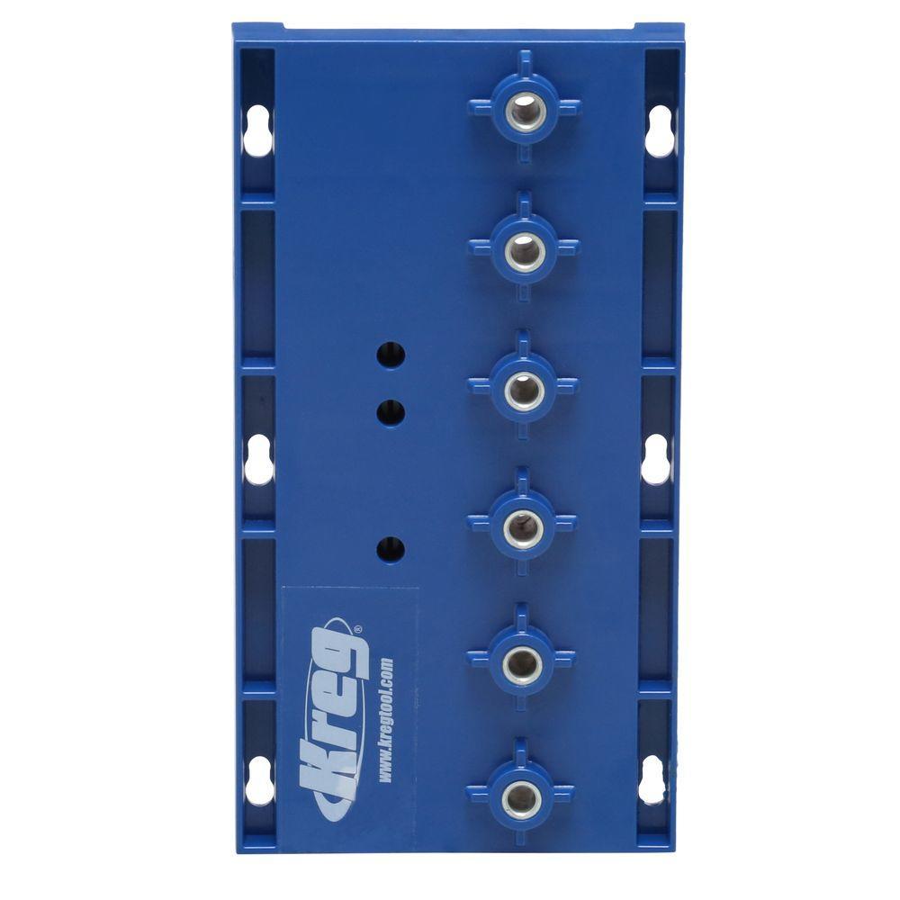 Kreg diy project kit diykit the home depot 5 mm shelf pin jig solutioingenieria Images