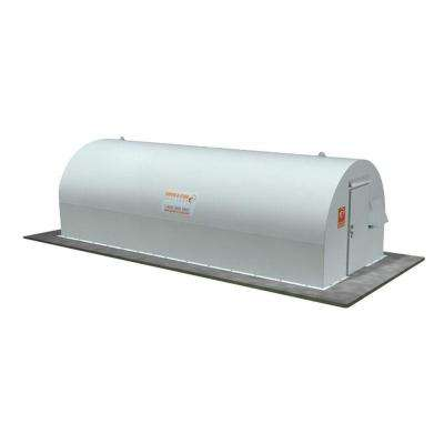 10 ft. x 24 ft. Above-Ground Community Metal Storm Shelter