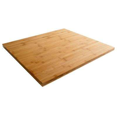 27 in. W Bamboo Top for Premier Series Garage Cabinets