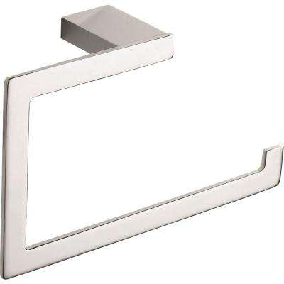 Parker Collection Towel Ring in Polished Chrome