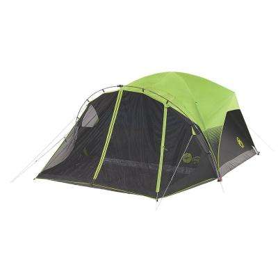 Carlsbad Fast Pitch 10 foot by 9 foot 6-Person Dome Tent with Screen Room