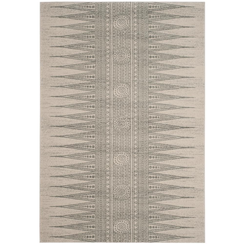 Evoke Ivory/Silver 7 ft. x 9 ft. Area Rug