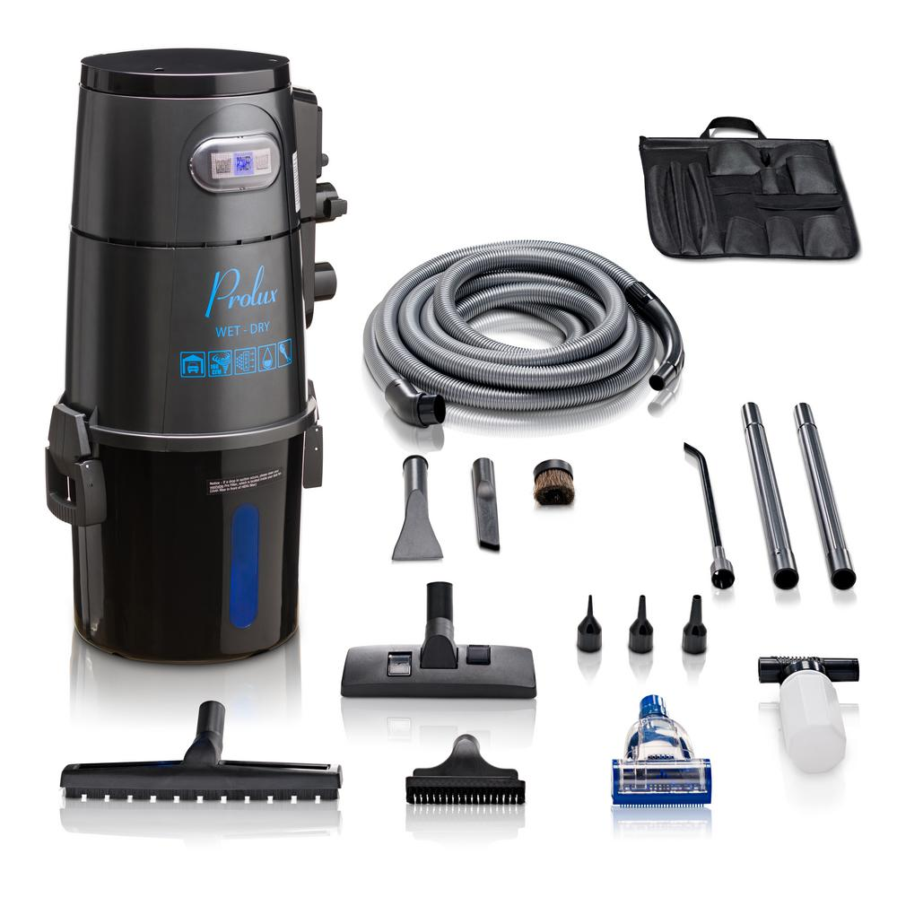 Prolux Prolux Lite 4 Gal. Professional Wall Mounted Garage Shop Wet/Dry Vacuum Pick Up