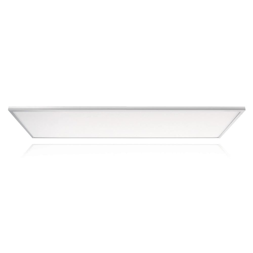 Skytile 50-Watt Brushed Aluminum 2 x 4 Integrated LED Flat Panel