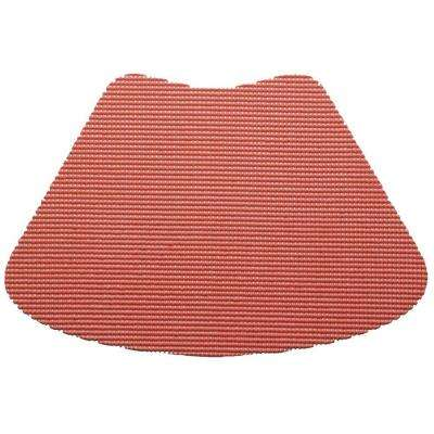 Fishnet Wedge Placemat in Brick (Set of 12)